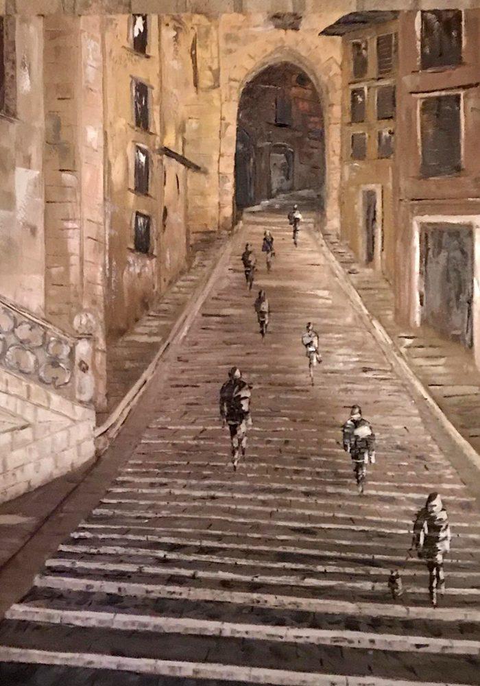 Sant'Ercolano – olio su tela, 90x70cm
